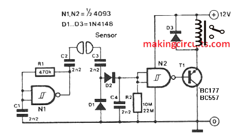 liquid level sensor circuit
