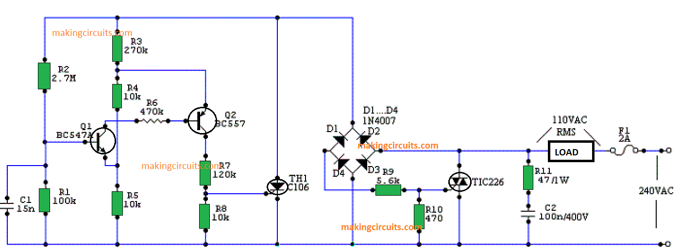 220v To 110v Wiring Diagram