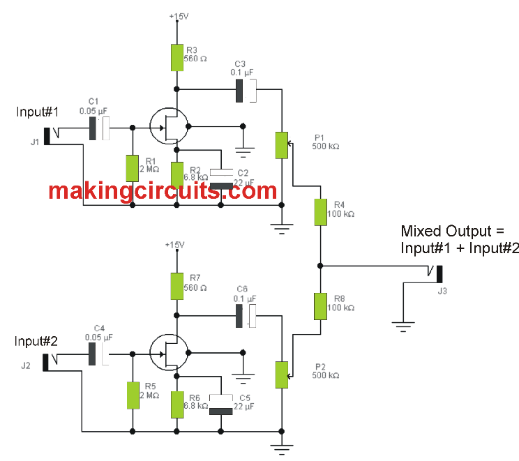 Miraculous Microphone Mixer Circuit Wiring 101 Ferenstreekradiomeanderfmnl